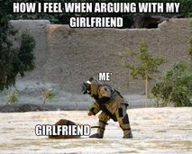 Funny images fighting with my girlfriend