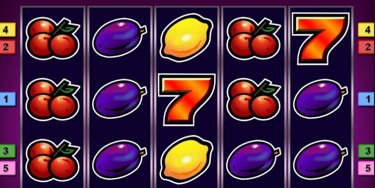 jednoręki bandyta owoce