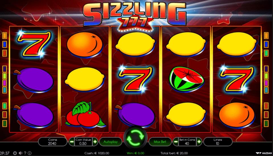 Zagraj W Sizzling Hot Za Free